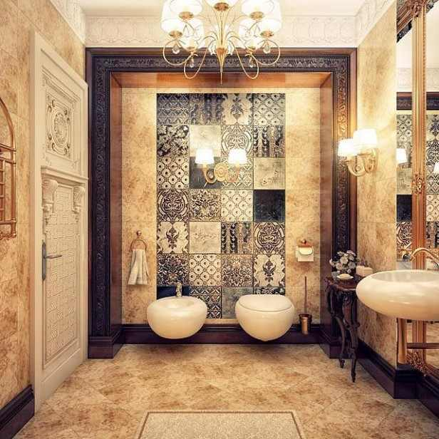 Luksusowe aran acje azienek for Retro bathroom designs