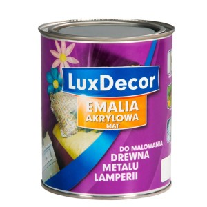 Emalia akrylowa do drewna i metalu LuxDecor