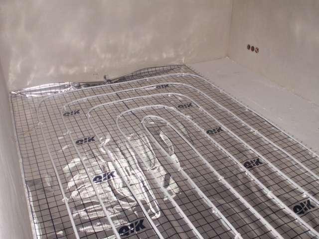 ogrzewanie podłogowe w kuchni