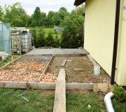 wylewka fundament pod garaż blaszak