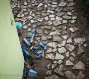 gruz betonowy pierwsza warstwa utwardzenia podjazdu