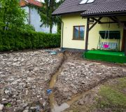 tądy będą przebiegały rury kanalizacyjne odwodnienie z rynien
