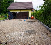 podjazd pod garażem podbudowa utwardzenie teranu