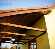 Przedłożony dach nad tarasem