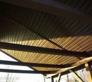 jak wykończyć dach nad tarasem