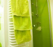 wnęka prysznicowa, szklane drzwi pod prysznic