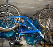 jak powiesić rowery na suficie w garażu ?