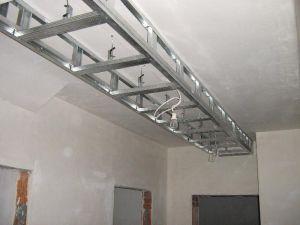 Budowa sufitu podwieszanego z płyt gipsowo-kartonowych, Dekoracja ścian i sufitów
