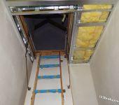 schody strychowe wyłaz na strych