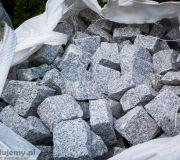 granit ze skrzegomia, granit szary łupany