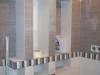 półki z regipsu w łazience