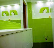 zielona łazienka aranżacja zdjęcia