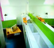 meble łazienkowe fronty lakierowane na wysoki połysk