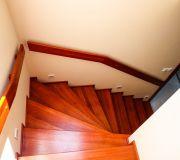 drewniane schody zabiegowe