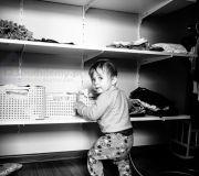 garderoba, półki w garderobie, zabudowa szafy