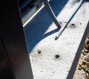 kotwa chemiczna montaż automatyki bramy przesuwnej