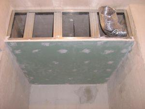 Wentylator pod prysznicem