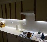 oświetlenie mebli kuchennych, podświetlenie mebli, gdzie włącznik oświetlenia mebli