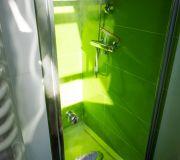 mycie parą kabiny prysznicowej