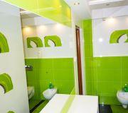 łazienka na poddaszu, płytki tubądzin colour tomasz zień