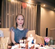 Siódme urodziny naszej córki Zuzanny
