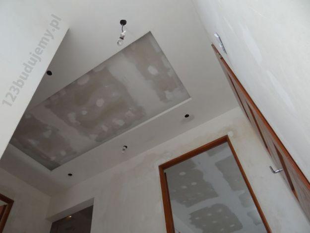 Konstrukcja Sufitu Dwupoziomowego Z Oświetleniem Led 123budujemy