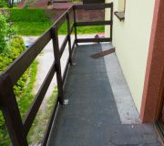 barierka na balkonie