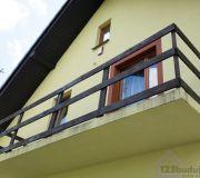 odbiór domu balkon