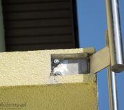 montaż balustrady aluminiowej na balkonie