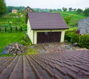 Dach dachówka betonowa euronit brązowa