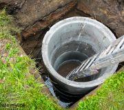 kręgi betonowe w ziemi