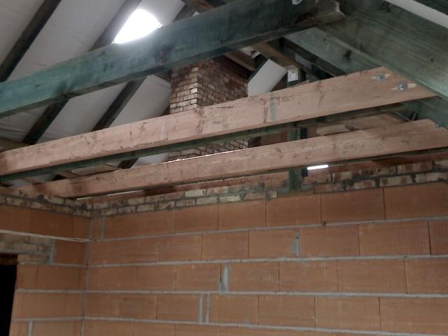 konstrukcja dachu, jętki, krokwie