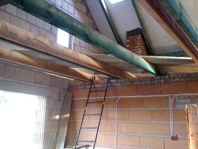 konstrukcja dachu, krokwie jetki