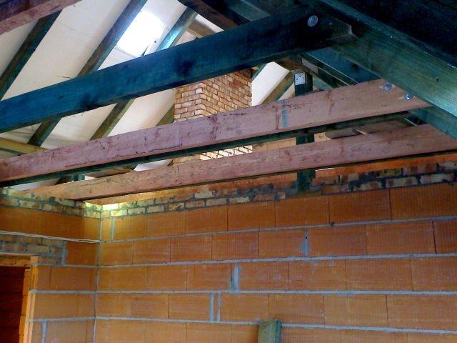 dodatkowe jętki, konstrukcja dachu