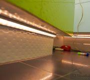 podświetlenie wanny taśma led łazienka oświetlenie podłogi włazience