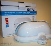 Lampa zewnętrzna z czujką ruchu GTV