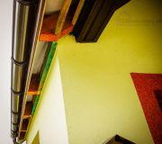 konstrukcja z łat podbitka podsufitka dachowa