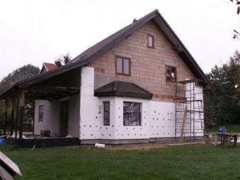 ocieplanie domu, ściana zachodnia