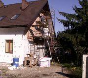 Elewacja dom zdjęcia budowa