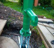 studnia abisyńska ręczna pompa do wody