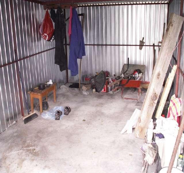 garaż blaszak