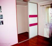 zabudowa szafy drzwi przesuwne lakobel