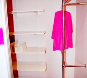 system półek i uchwytów do szafy element system