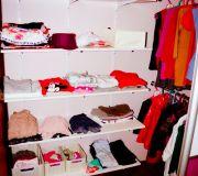 Sposób na niedrogą zabudowę garderoby