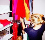 projekt wnętrza garderoby dla dziecka