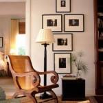 galeria zdjęć w holu na ścianie w ramach