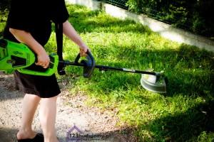 podkaszarka greenworks tools gd40bc opinie