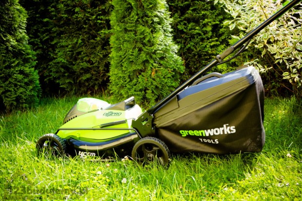 kosiarka akumlatorowa greenworks GD40LM45 opinie