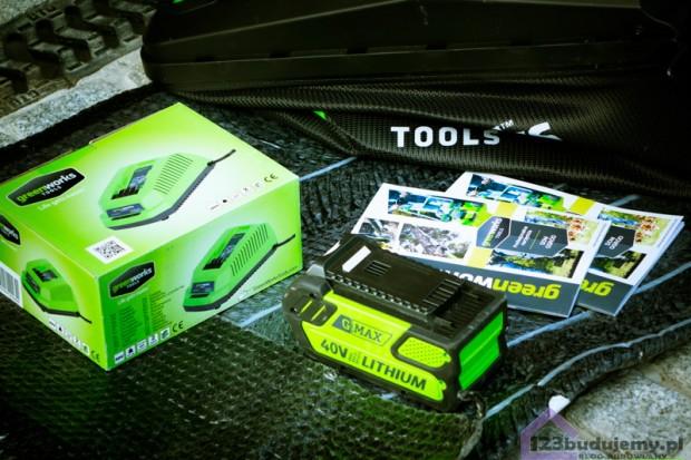greenworks bateria i ładowarka do kosiarki i podkaszarki 40v