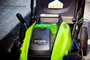 greenworks tool koszenie trawnika